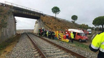 21 heridos al descarrilar el tren Málaga-Sevilla por las fuertes lluvias