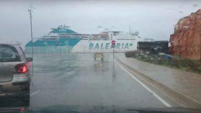 Cerrado el puerto de Ciutadella y barcos cancelados en Alcúdia por el temporal