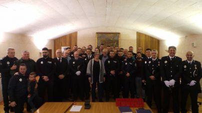 Andratx homenajea a su Policía Local y miembros de Protección Civil