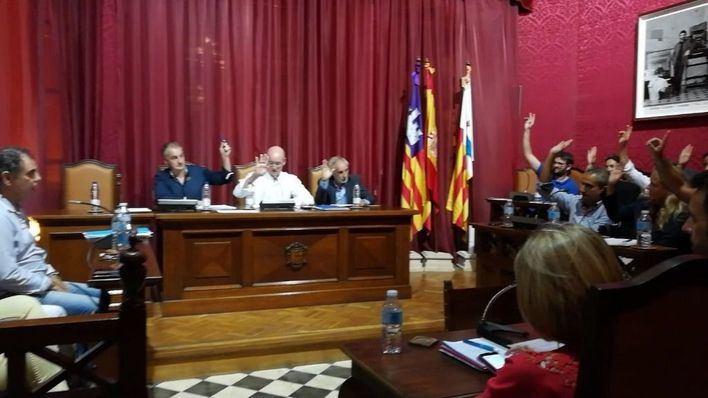 Pleno municipal del pasado miércoles