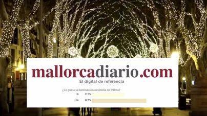 A seis de cada diez lectores no les gusta la iluminación navideña de Palma