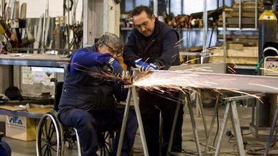 Aumentan un 13 por ciento los contratos a discapacitados en Balears