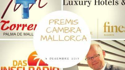 La Cámara de Comercio premia a Grupo Torrens, Excellence Group y Mallorca Radio Group