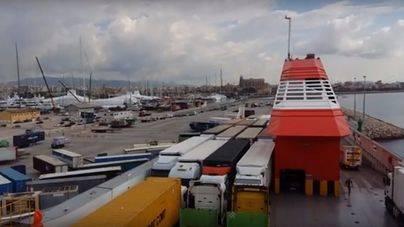 Día frío y normalidad en los puertos de Balears