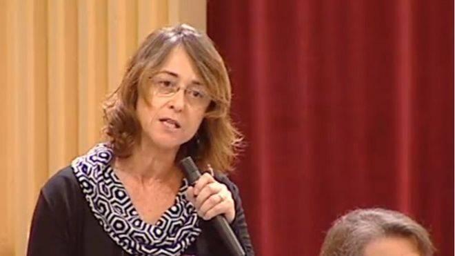 Olga Ballester, diputada de Ciutadans