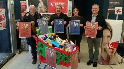 Vuelve la campaña de recogida de alimentos de Eroski