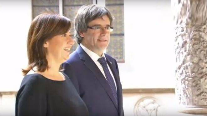 "Denuncian que Armengol sale ""al rescate"" del independentismo con 600.000 euros al Ramon Llull"