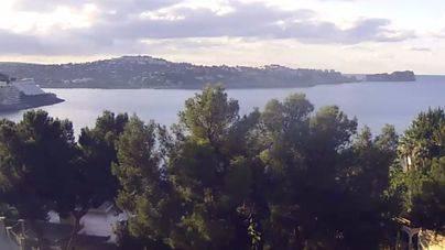 Cielos nubosos en Mallorca a la espera de lluvia y nieve el fin de semana