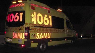 Herido grave un joven de 15 años que se estrelló conduciendo el coche de un amigo