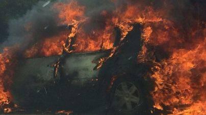 Los delitos por quemar coches en Balears caen un 22 por ciento: 7 hasta junio