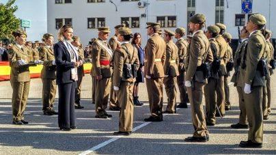 El Acuartelamiento Jaime II de Palma celebra la patrona de la Infantería