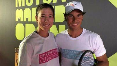 Rafa Nadal y Garbiñe Muguruza, campeones mundiales de la ITF 2017