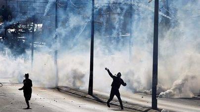 Miles de árabes se manifiestan en favor de un Jerusalén palestino