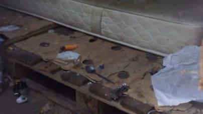 Alertan de un punto de consumo de heroína al lado de un colegio en Palma