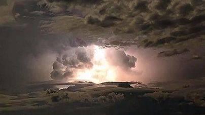 Espectaculares imágenes de la furia de una tormenta