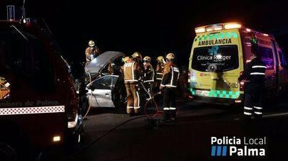 Detenido el joven que provocó el accidente mortal en la autopista de Llucmajor
