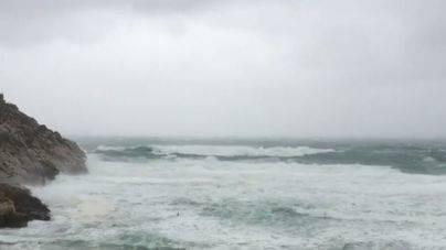 La borrasca 'Ana' dejará vientos muy fuertes en Balears este domingo