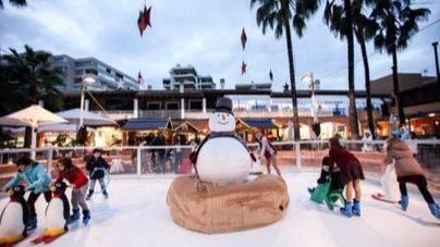 Puerto Portals enciende las luces del Christmas Market un año más