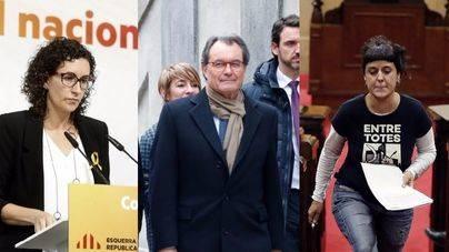 Una agenda revela el papel de Mas, Rovira y Gabriel en el 'procés' catalán