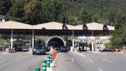 El túnel de Sóller será gratuito en una semana