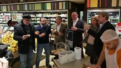 Eroski se marca el objetivo de vender más productos baleares