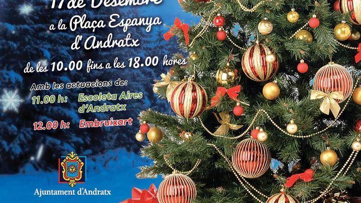 Andratx abre su tradicional Mercat de Nadal en la Plaza España