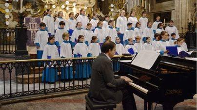 Blauets de Lluc y la Capella Mallorquina en el Concierto Solidario de Navidad