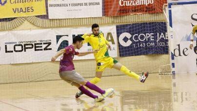 El Palma Futsal solo saca un empate en Jaen