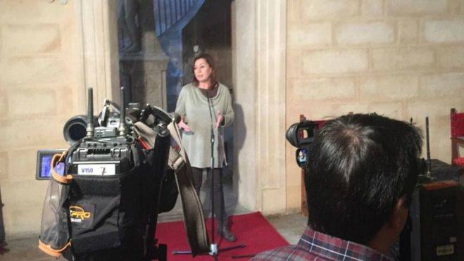 Francina Armengol lo ha hecho oficial desde el Consolat (Foto: IB3TV)