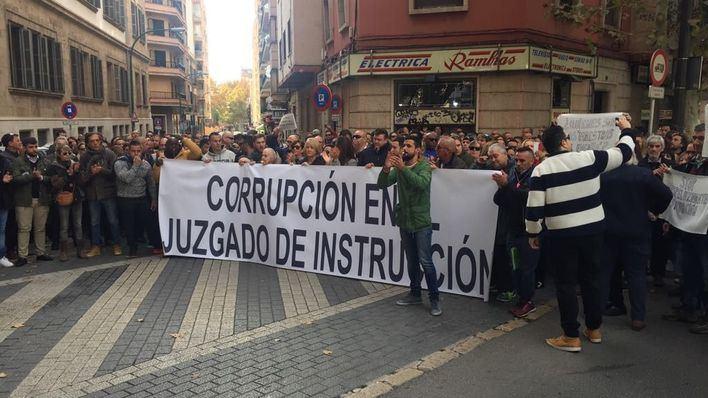 Imagen de la manifestación de 27 de noviembre