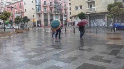Lluvias, tormentas y vientos fuertes hoy en Mallorca
