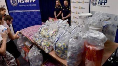 Australia incauta 1,2 toneladas de metanfetamina
