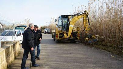 Sa Pobla inicia la limpieza de los caminos de 'fora vila'