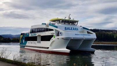 Comienza a operar el nuevo eco ferry de la línea Ibiza-Formentera de Baleària