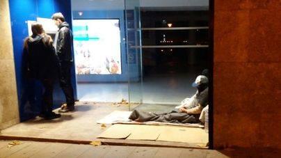 209 personas duermen en Navidad en las calles de Mallorca, 188 en Palma