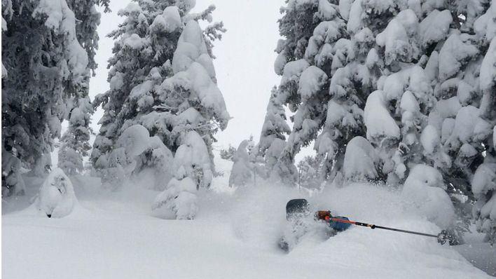 La nieve sepulta Estados Unidos: metro y medio de nieve por el temporal