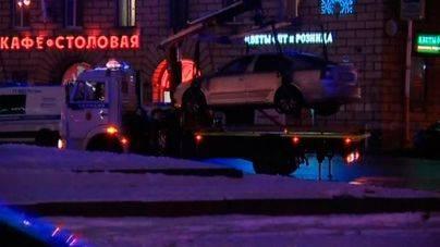 Diez heridos en la explosión de una bomba en un supermercado de San Petersburgo