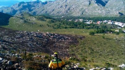 Estabilizado el incendio de Pollença tras arrasar 80 hectáreas de matojos