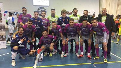 Calvià disfruta con el Palma Futsal en el I torneo de Navidad