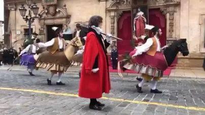 Palma celebra con novedades la Festa de l'Estendard y entrega las Medalles d'Or
