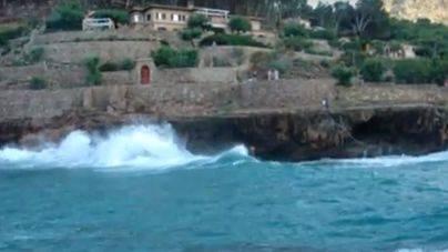 Alerta amarilla por oleaje y fenómenos costeros adversos en Mallorca