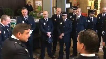 La Policía Local de Palma se come las uvas al pie del cañón