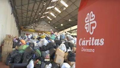 Cáritas convierte la recogida de ropa en una empresa de inserción