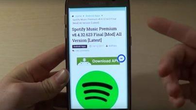 Denuncian a Spotify por