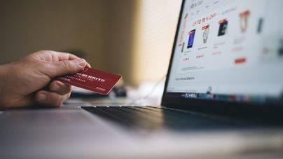 El gasto medio en compras 'online' crece un 9% en Balears respecto a 2016