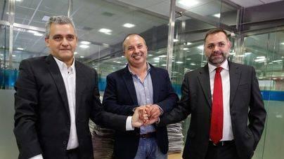 Juan Mestre, Toni Planells y Joan Miquel Perpinyà