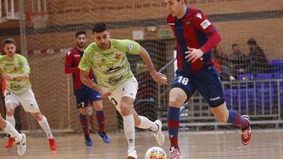 El Palma Futsal se abona al empate: 4 a 4 en la cancha del Levante
