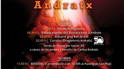 Andratx calienta motores para Sant Antoni