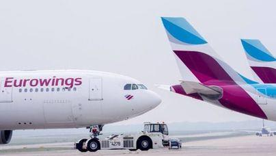 Eurowings: 34 nuevos vuelos extra a Palma en invierno desde Colonia y Düsseldorf