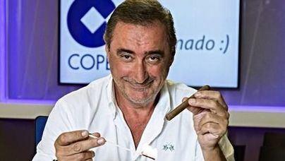 Herrera dispara la audiencia y renueva con la Cope hasta 2021